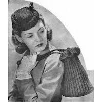KNITTED VINTAGE BAG PATTERNS