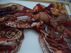 Three ladies fashion scarves good condition- lot 1